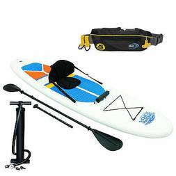 hydro force inflatable sup board and kayak