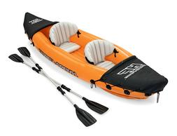 Hydro-Force Rapid X2 Kayak with Oars, 2 Person Capacity New