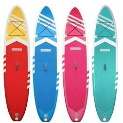 """Inflatable 10.5'x 30"""" x 6"""" Water Stand Up Paddle Board 2 in"""