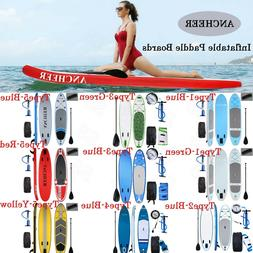 Inflatable 11' Stand Up Paddle Board 2 in 1 SUP+Kayak 6inch