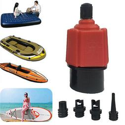 Inflatable Kayak Valve Adapter Air Pump Nozzle Set For Boat