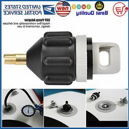 Inflatable Boat Pump Valve Adapter For Kayaking SUP Air Padd