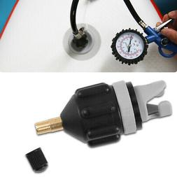 inflatable boat pump valve adapter sup air
