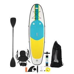 Blue Water 10FT Inflatable Combo Kayak/Stand Up Paddle Board