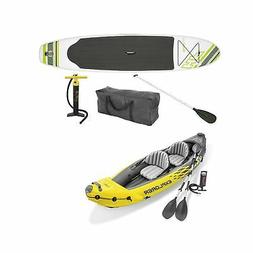 Bestway Inflatable Hydro Force Paddle Board w/ Intex 2 Perso