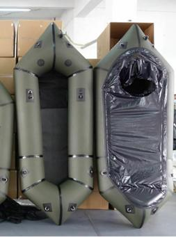 Inflatable Lightweight TPU White Water River Micro PackRaft