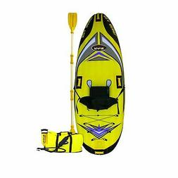 NEW Rave Sport Inflatable Sea Rebel 1-Person sit Kayak w pac