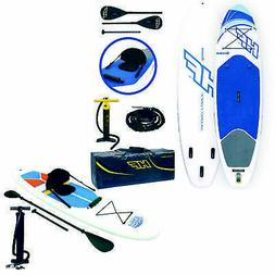 Inflatable Stand Up Lake Paddle Board Bundled w/ Inflatable