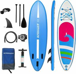Inflatable SUP Paddleboard Paddle Board Stand UP Surfboard K