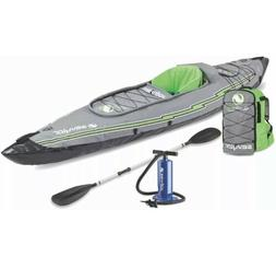 Sevylor K5 QuikPak Inflatable 1 Person Kayak Max Weight Limi