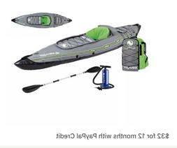 Sevylor K5 QuikPak™ Inflatable Kayak w/ Backpack Seat Syst