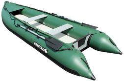 Saturn 13 ft Kaboat SK385Xl Green Extra Heavy-Duty Inflatabl