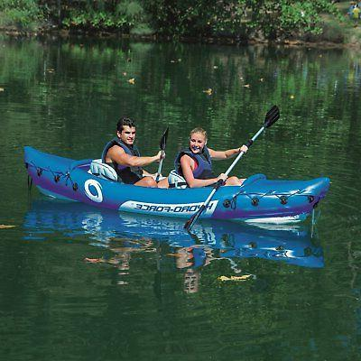 Bestway 126 x 35 Inches Lite-Rapid X2 Inflatable Kayak Float with