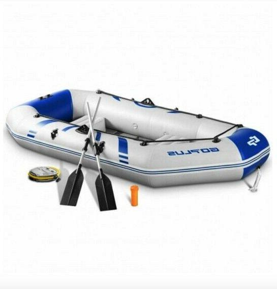 2 3 person inflatable fishing boat kayak