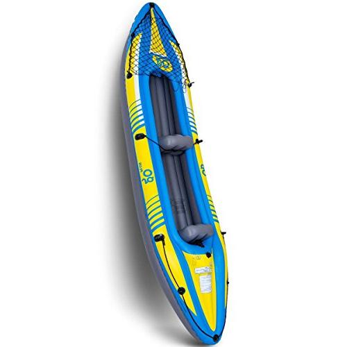 2 person inflatable canoe boat