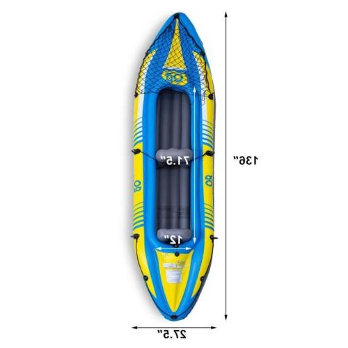 2-Person Kayak Oar and Seat