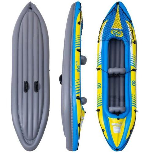 2-Person Inflatable Canoe Kayak Seat