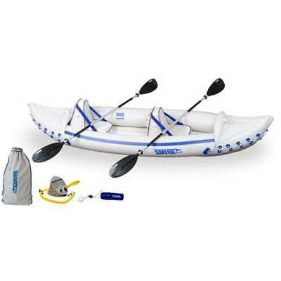 330 professional 2 person inflatable sport kayak