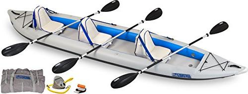 435ps inflatable catamaran kayak incl