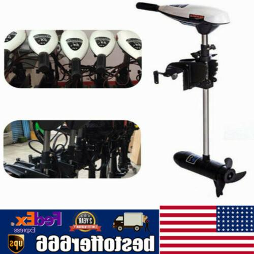 65lbs electric outboard engine boat kayak pro