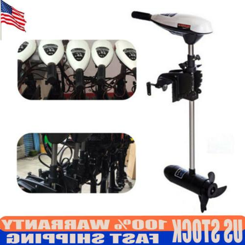 65lbs electric outboard engine boat trolling motor