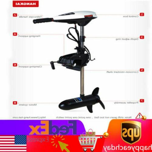 65lbs electric outboard motor engine trolling motor