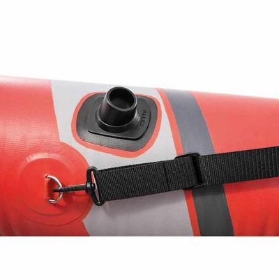 Intex 2 Inflatable Kayak with Oars Pump
