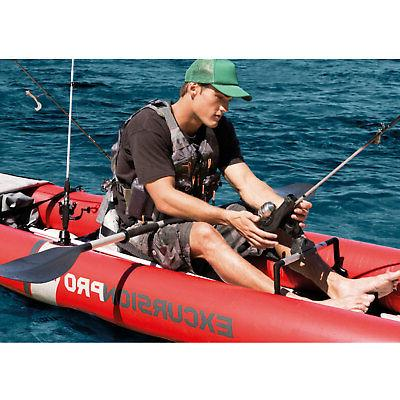 2 Kayak with Oars Pump
