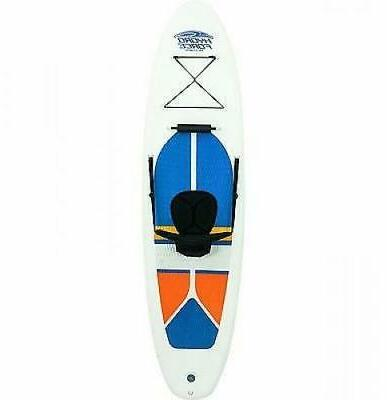 Bestway Hydro-Force 10 Inflatable Paddle Board SUP Kayak, White