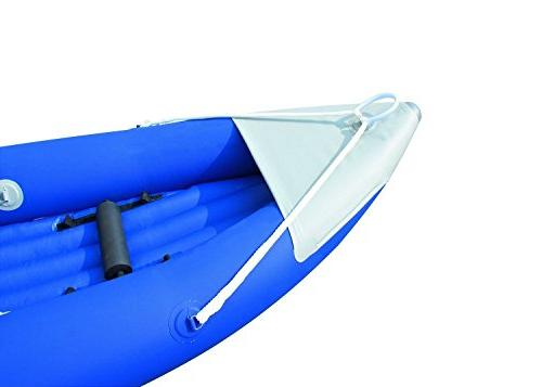 Bestway Bolt Person Inflatable Raft with Pump 2 Aluminum Oars