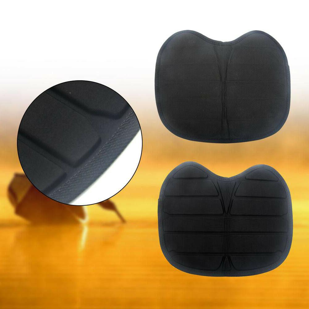 Canoe Black Inflatable Chair Cushion Comfortable Fishing