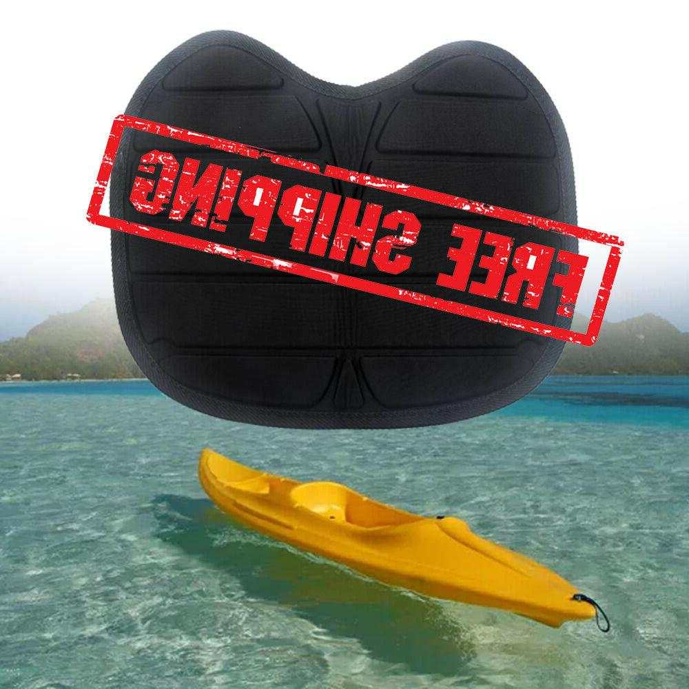canoe kayak black seat inflatable boat chair