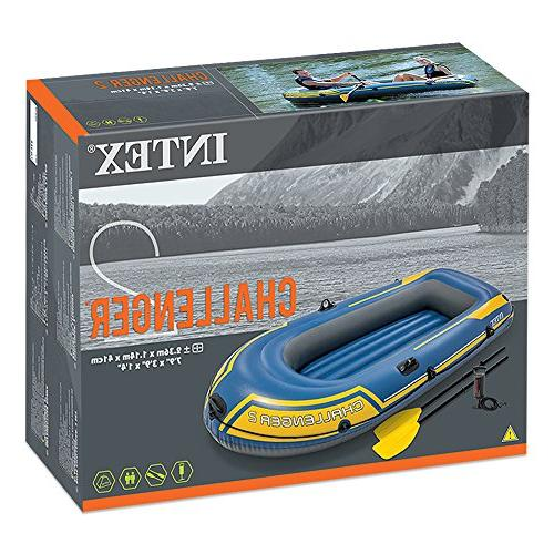 Intex Challenger Inflatable Set French Oars Output