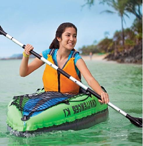Intex K1 Inflatable Sporty Oars Pump SHIPS SAME DAY AIR PUMP INCLUDED