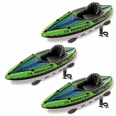 challenger k1 1 person inflatable sporty kayak