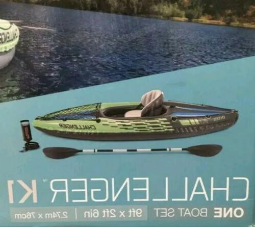 Intex Inflatable Kayak One Person In Hand