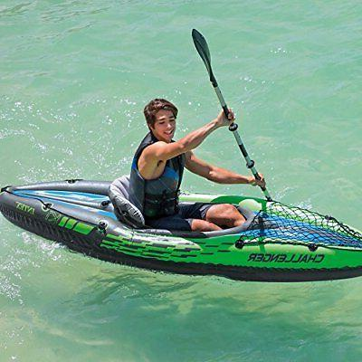 Intex 1Person Kayak Set with Oars