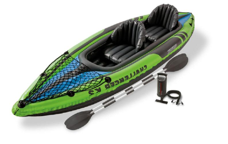 Intex Challenger K2 Inflatable Sporty Oars And | 68306EP