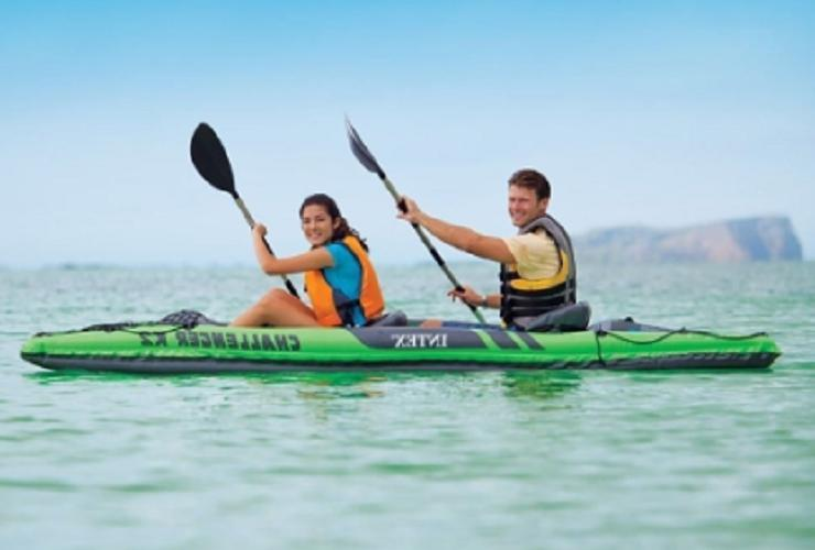 Intex Challenger K2 2-Person Inflatable Sporty Oars And Pump | 68306EP