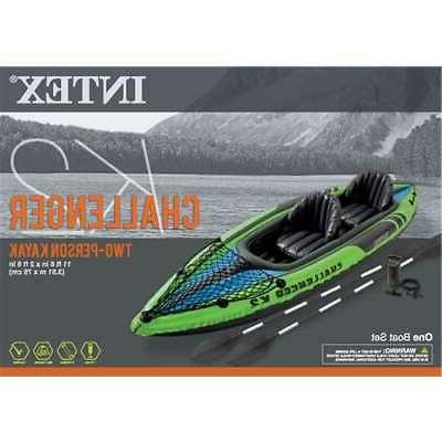 Intex Person Inflatable Kayak with & Pump