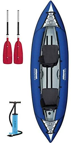 Aquaglide 58-5215032 Chinook XP Two 10'6 2 Person Inflatable