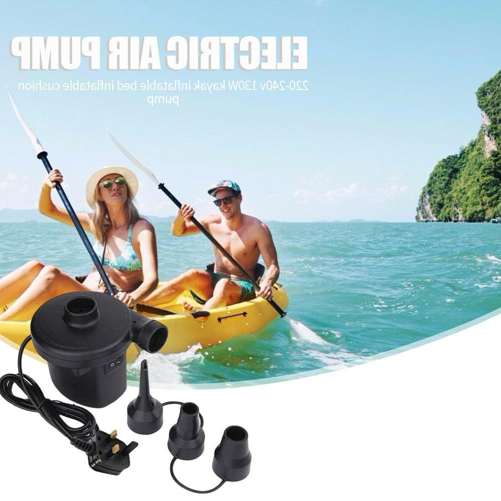 Electric Outdoor Kayak Inflatable Airbed Yoga Inflator