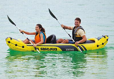 Inflatable Oars And Pump