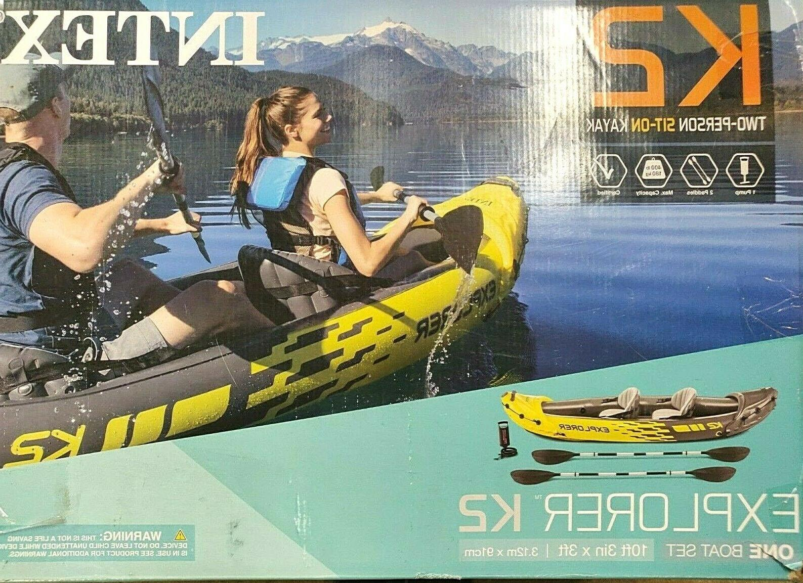 Intex Inflatable Kayak with and Pump