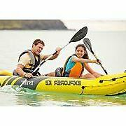 Intex Explorer K2 Kayak Hand pumped kayak