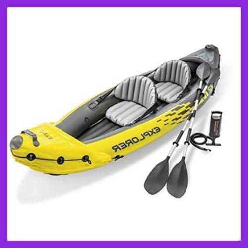Intex Explorer K2 Kayak 2 Set W Aluminum High