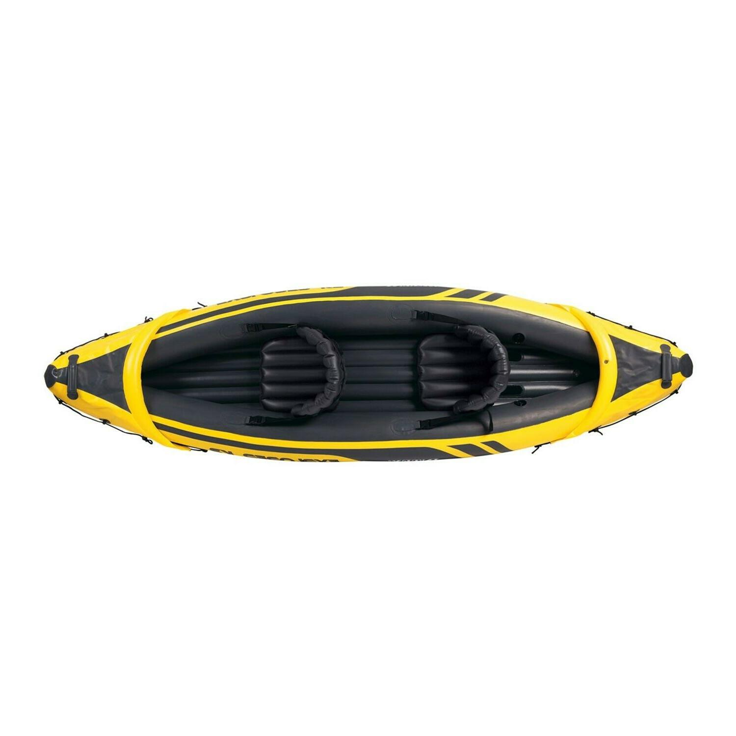 Intex Explorer with oars and hand pump, from