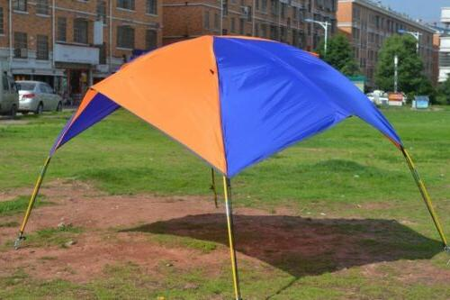 Foldable Inflatable Rain Camping Tent Sun Awning