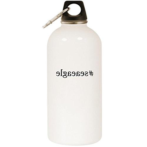 hashtag stainless steel water bottle