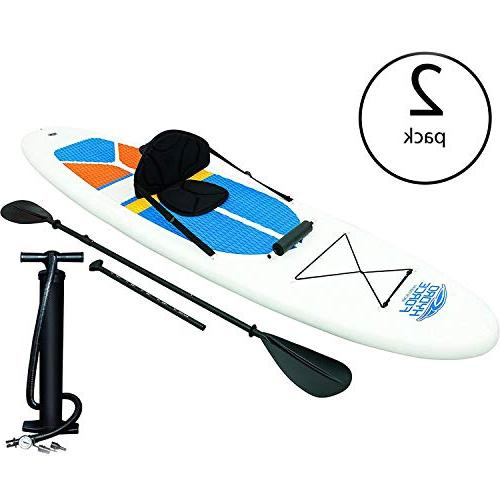 Bestway Hydro-Force White Cap Inflatable Stand Paddle & 65069